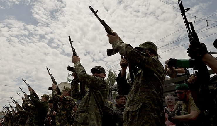 Separatisti di Lugansk, Ucraina