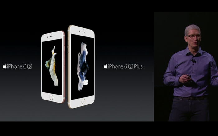 Tim Cook svela iPhone 6S e iPhone 6S Plus
