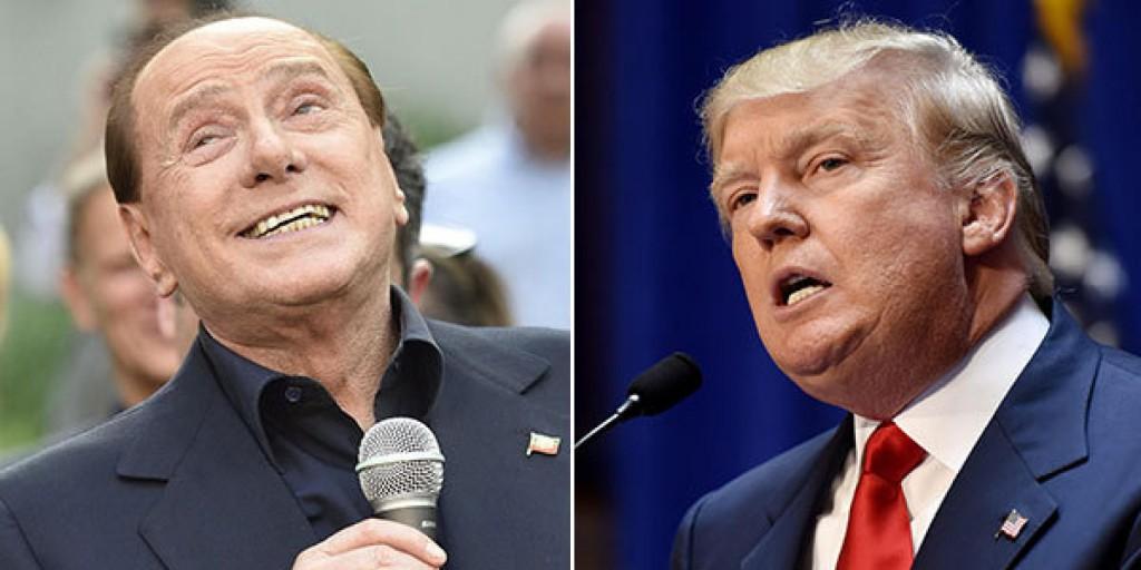 Trump Berlusconi