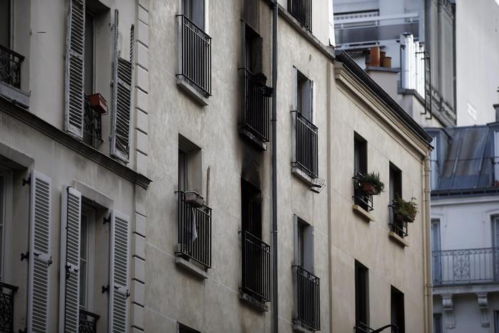 Incendio Parigi