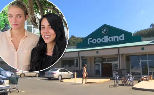 Il supermercato dove la coppia è stata arrestata