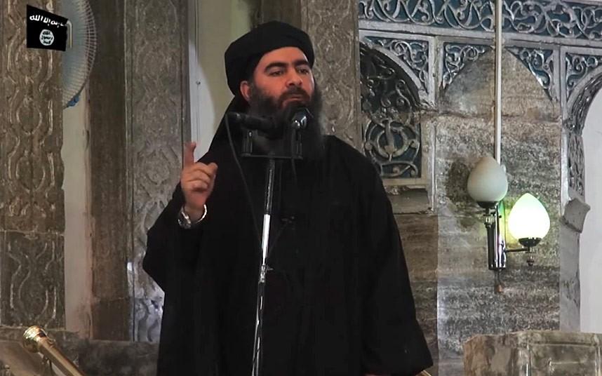 Il califfo Abu Bakr al-Baghda