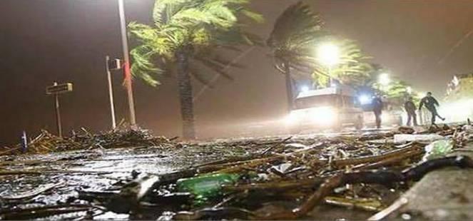 Alluvione in Costa azzurra