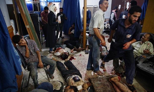 Bombardamento del mercato di Douma