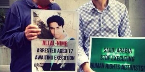 Campagna anti-condanna per Ali Al Nimr