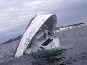 "Nave ""Leviathan II"" affonda sulle coste canadesi"