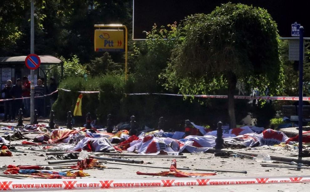 Esplosioni ad Ankara