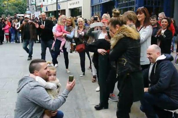 Flashmob per fare la proposta