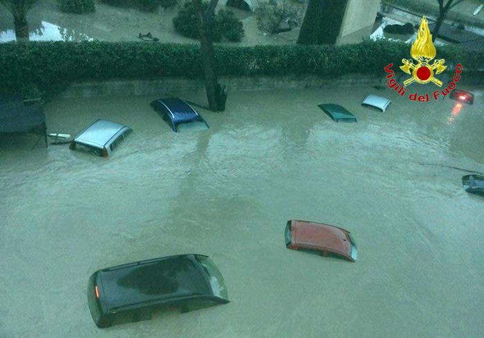 Alluvioni al Sud Italia