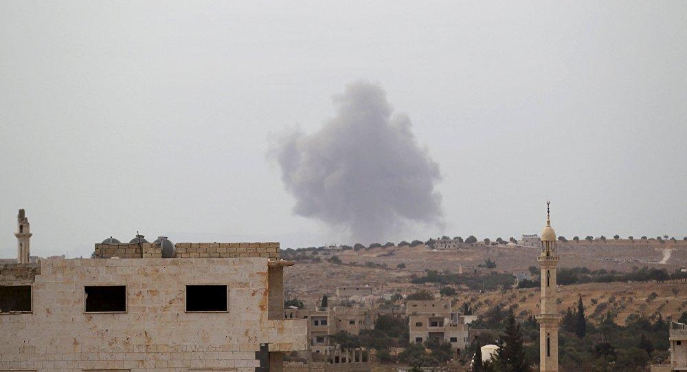 Raid russi Isis