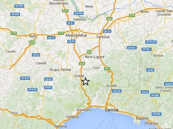 Terremoto Genova