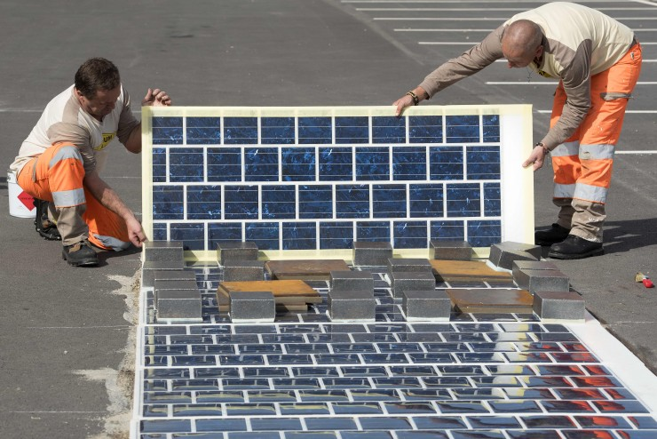 Wattway, il pannello fotovoltaico per le strade