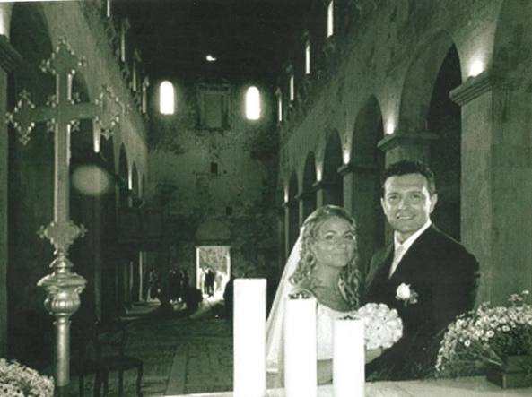 Massimo Maravalle e moglie
