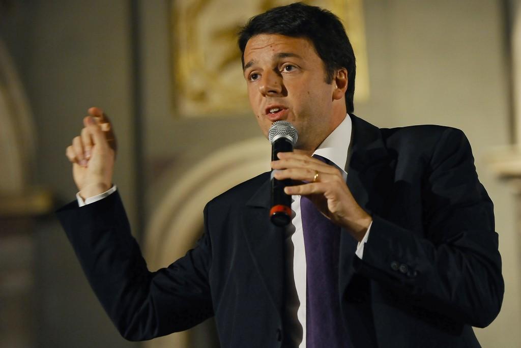 Renzi discute la legge di stabilità