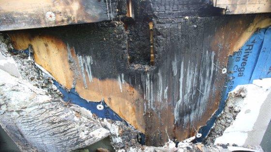 Incendio al nido Gaia