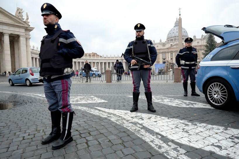 Allarme attentati a Roma e Milano