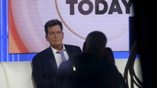 Ammissione in TV per Charlie Sheen