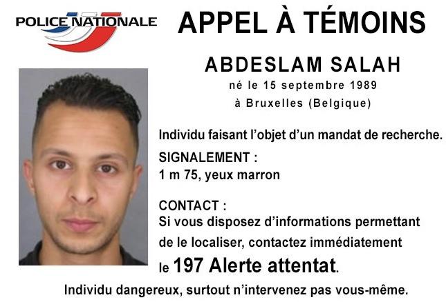 Foto segnaletica del terrorista