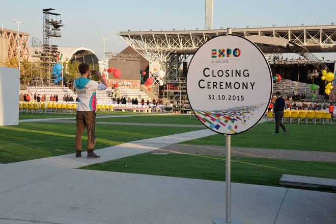 Cerimonia chiusura Expo - 1