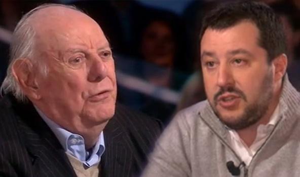 Dario Fo contro Matteo Salvini