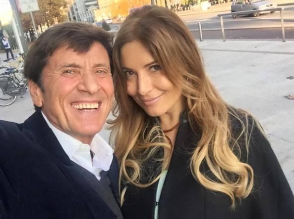 Gianni Morandi e Selvaggia Lucarelli