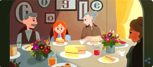 Google celebra autrice Anna dai capelli rossi