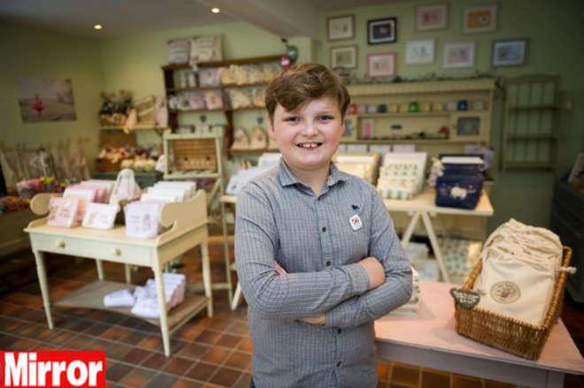 Henry Patterson, imprenditore di 11 anni