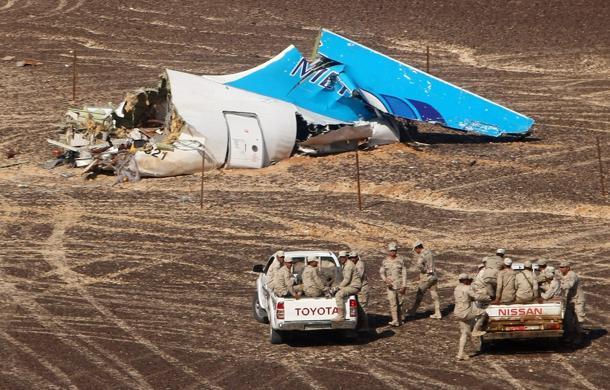 Ipotesi bomba nello schianto dell'aereo in Sinai