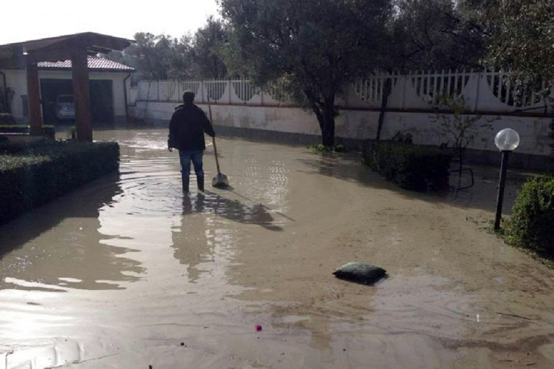 Maltempo in Calabria