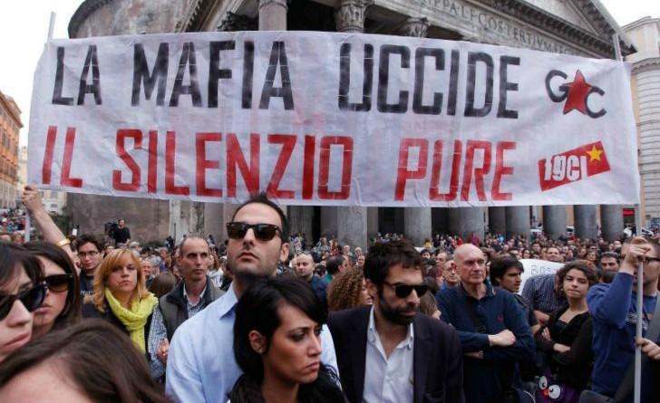 Manifestazioni contro la mafia