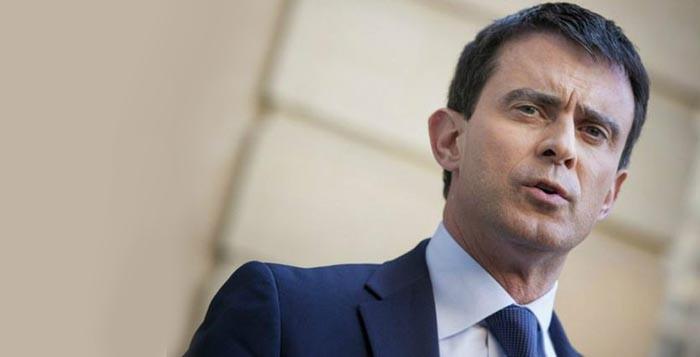 Il premier francese Manuel Valls