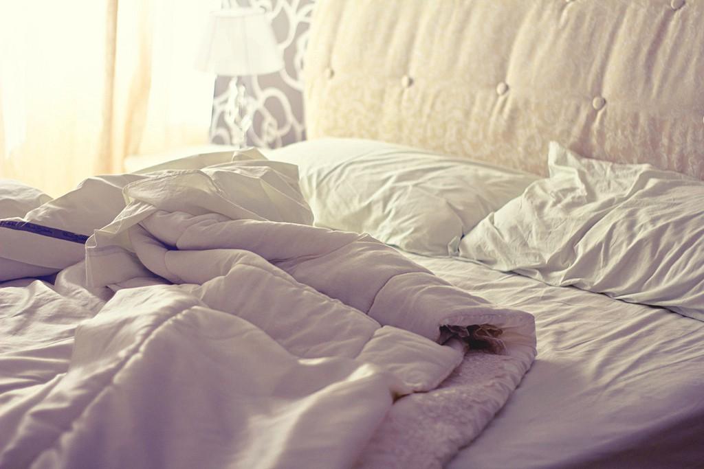 Rifare il letto è rischioso per la salute