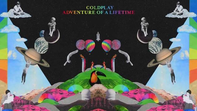 """Copertina del singolo """"Adventure of a lifetime"""""""