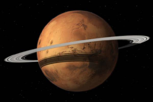 Marte avrà in futuro un anello