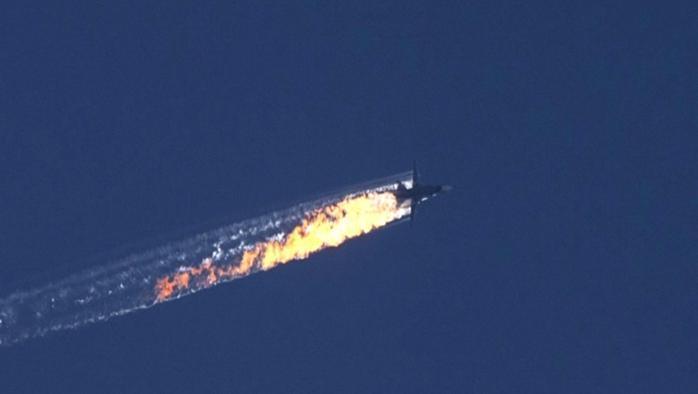 L'abbattimento dell'aereo russo