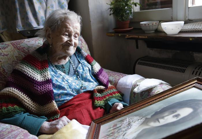 Emma Morano compie 116 anni