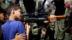 Giovani reclute dell'Isis