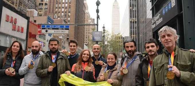 CInque emofilici alla Maratona di New York