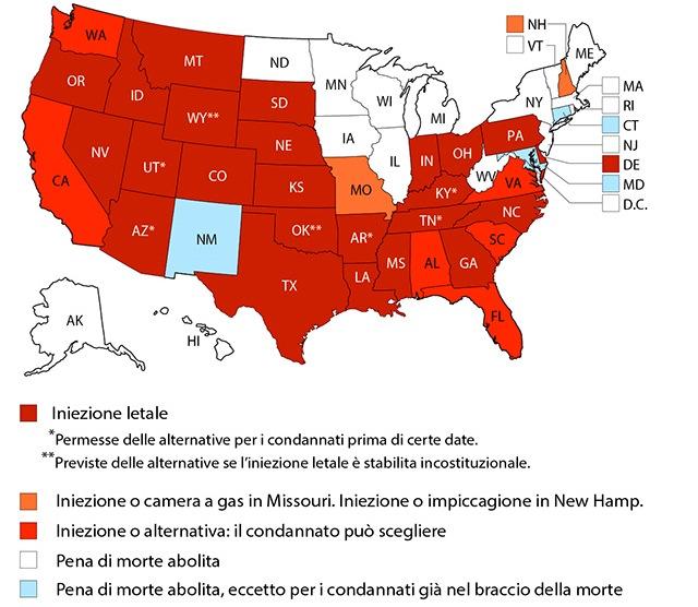 Pena Di Morte La 13esima Esecuzione Dell Anno In Texas