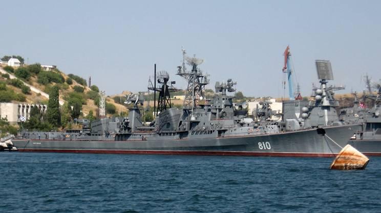 Nave russa spara contro mezzo turco nell'Egeo