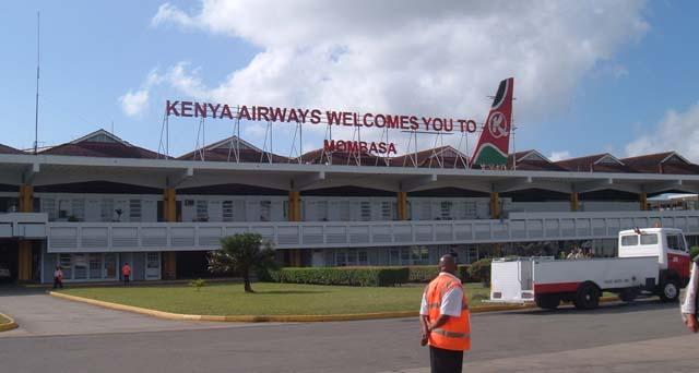 Aeroporto Nairobi : Kenya l aeroporto di mombasa