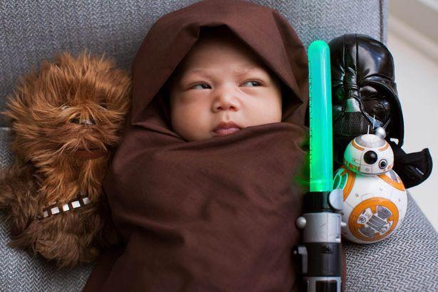 Max, la piccola fan di Star Wars