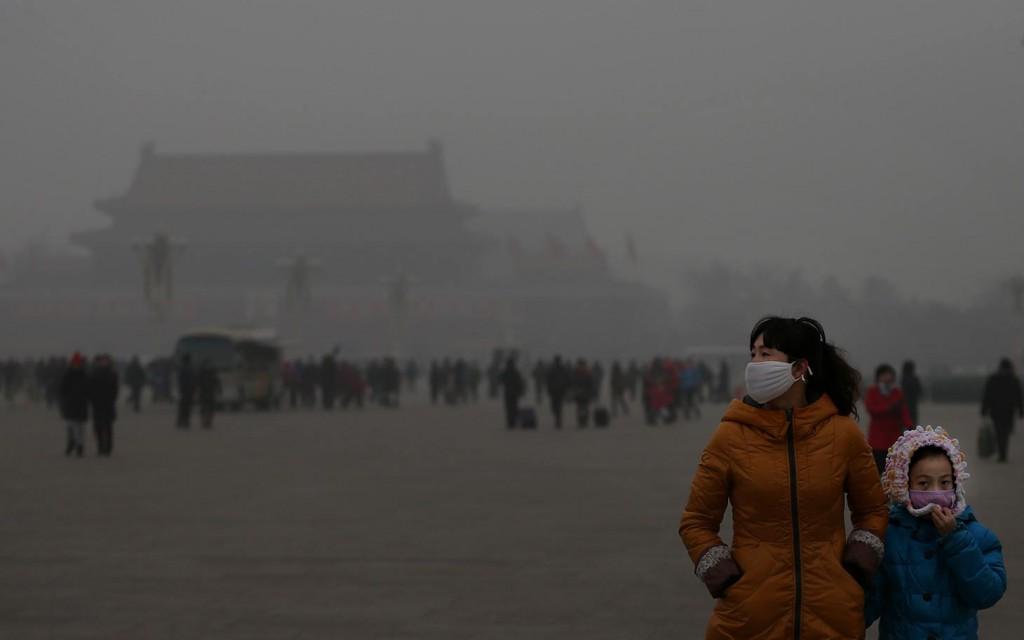 Pechino, allarme inquinamento