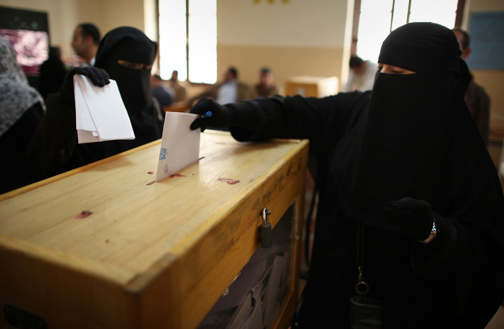 Donne al voto in Arabia Saudita