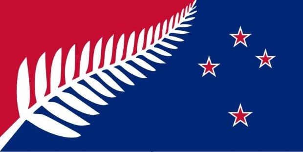 La nuova bandiera della Nuova Zelanda