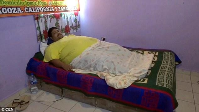Andres Moreno, uomo più grasso del mondo