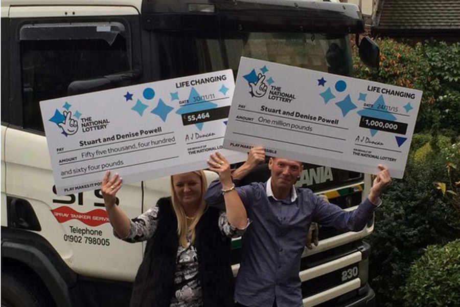 Camionista inglese vince 1 milione di sterline alla lotteria