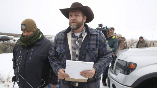 Ammon Bundy, leader della rivolta dei cowboy