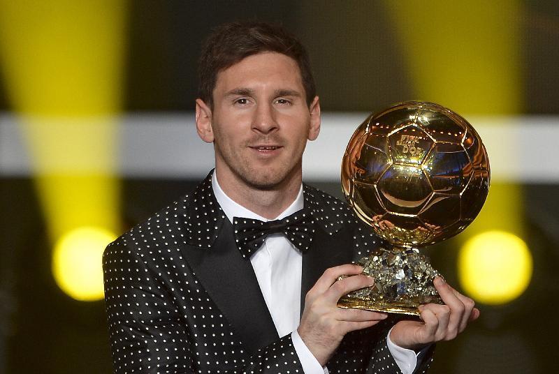 Lionel Messi vince il 5 Pallone d'Oro