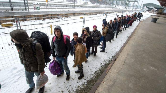 Migranti che tornano in Austria